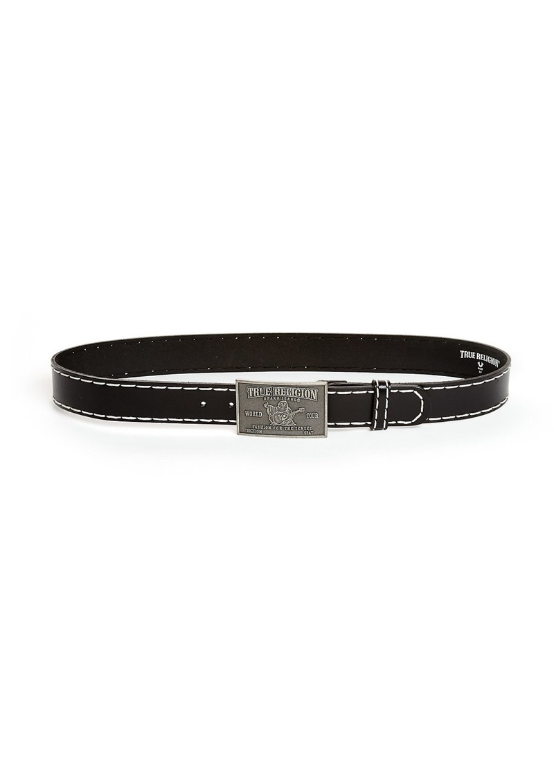 True Religion BIG T STITCH BELT