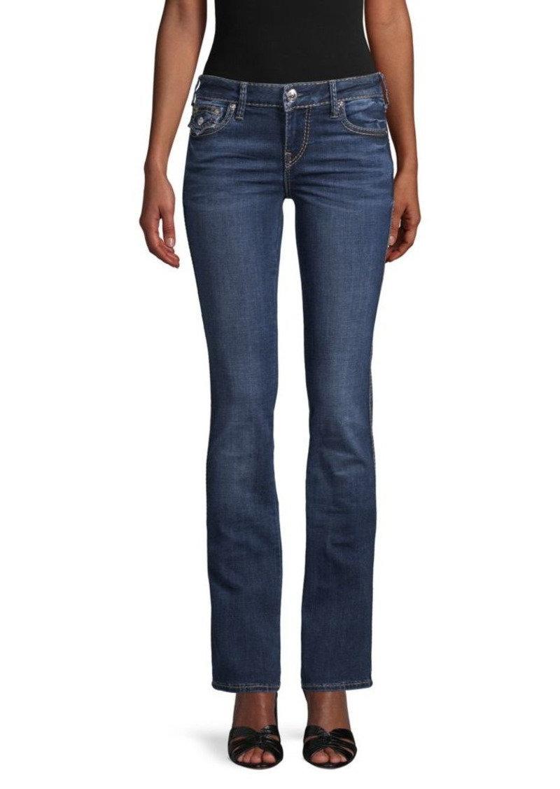 True Religion Billie Flap Big T Bootcut Jeans