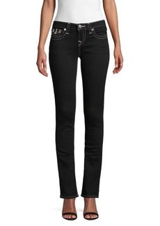 True Religion Billie Flap-Pocket Slim Straight Jeans
