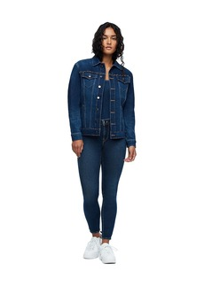 True Religion CHAIN FRINGE DENIM JACKET