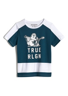 True Religion BOYS BUDDHA COLORBLOCK TEE