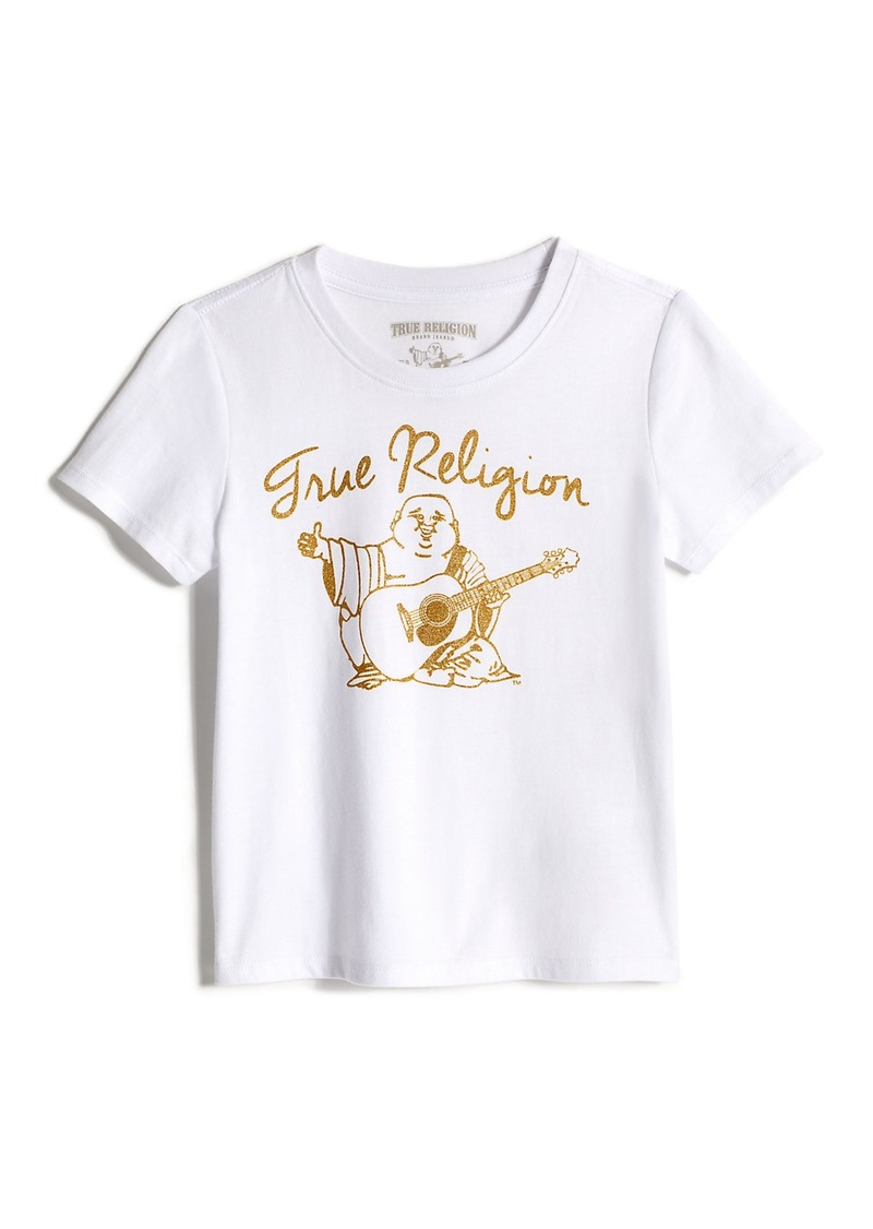 True Religion GIRLS BUDDHA SCRIPT TEE