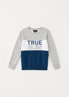 True Religion BOYS COLOR BLOCK SWEATSHIRT