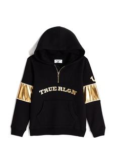 True Religion BOYS HALF ZIP HOODIE