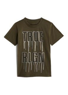 True Religion BOYS LOGO DRIP TEE