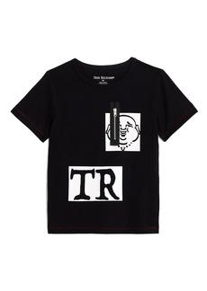 True Religion BOYS LOGO ZIPPER TEE