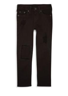 True Religion Boy's Rocco Patch Jeans