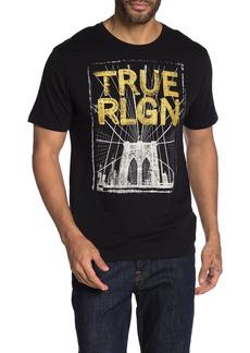 True Religion Brand Print Short Sleeve T-Shirt