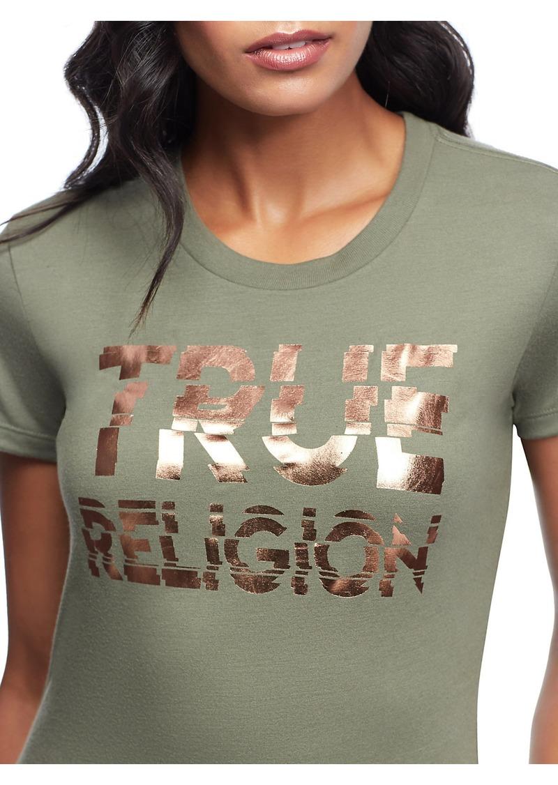 True Religion BROKEN LOGO TEE