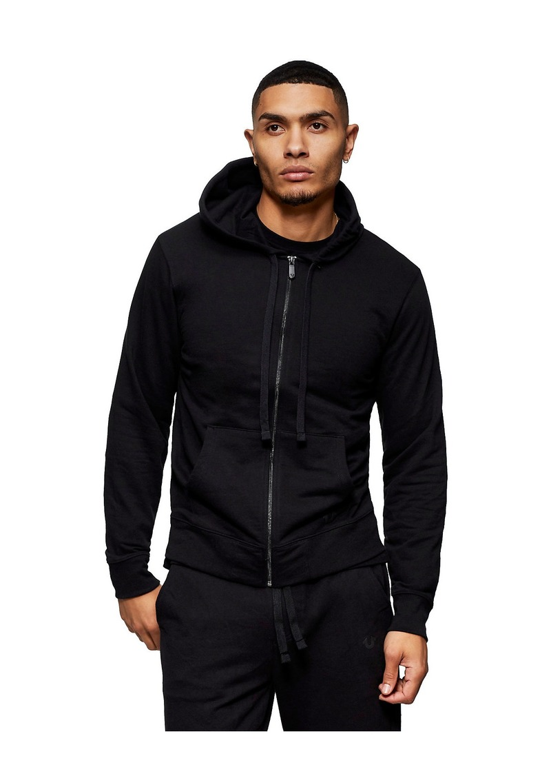 True Religion BUDDHA BACK ZIP HOODIE
