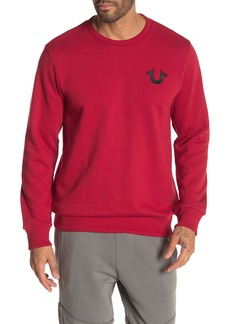 True Religion Buddha Crew Neck Sweatshirt