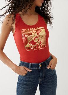 True Religion BUDDHA LOGO TANK