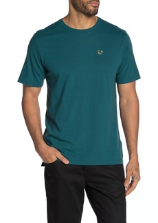 True Religion Buddha Print Short Sleeve Crew Neck T-Shirt