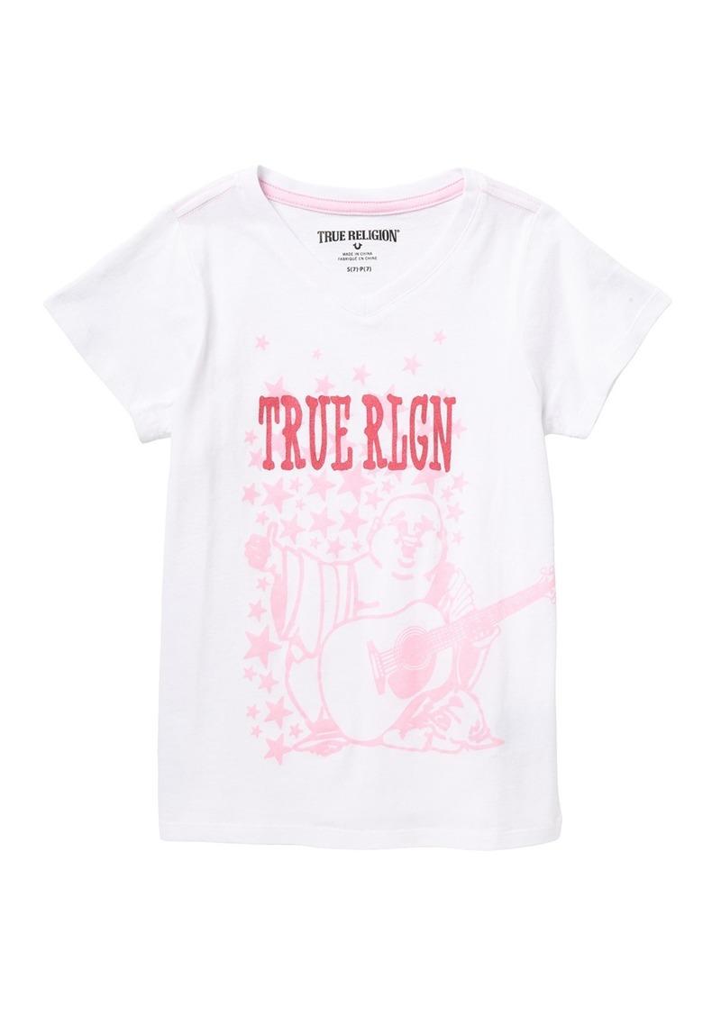 True Religion Buddha T-Shirt (Big Girls)