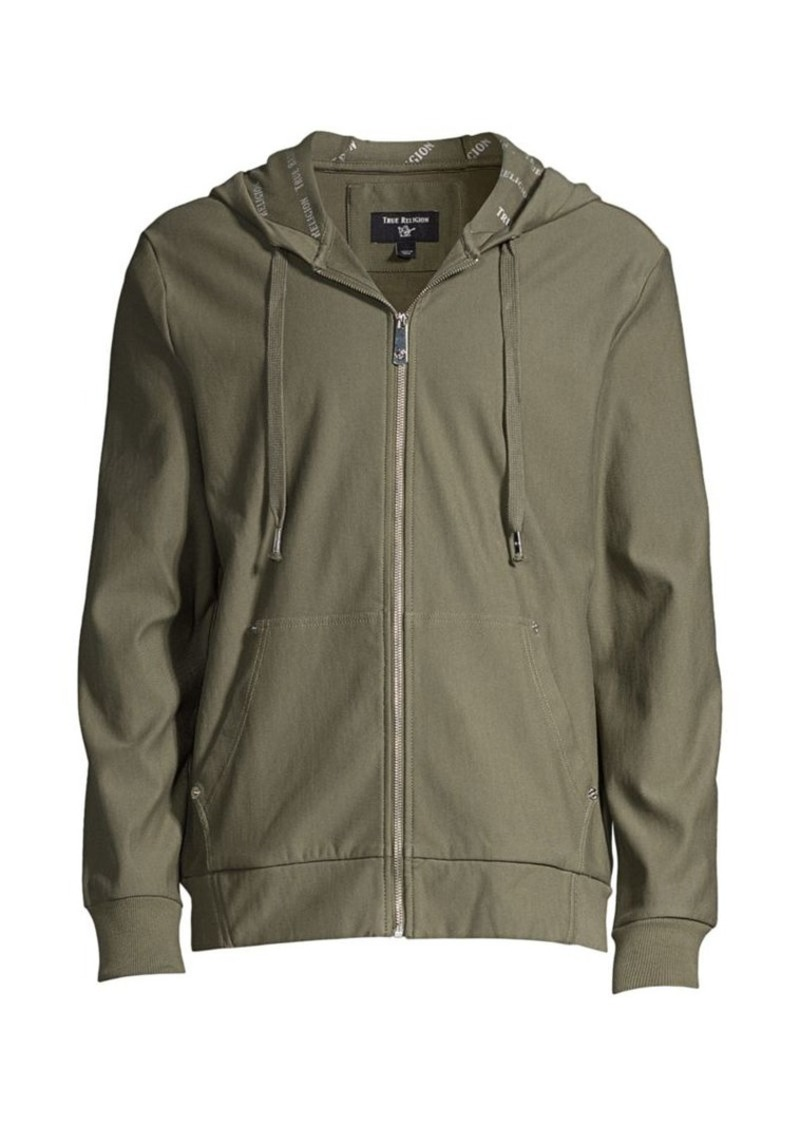 True Religion Budha Zip-Up Hoodie