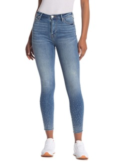True Religion Caia Crystal Hem Skinny Ankle Jeans