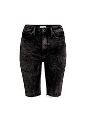 True Religion Caia Denim Bermuda Shorts
