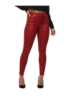 True Religion CAIA ULTRA HIGH RISE COATED JEAN