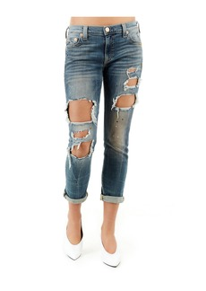 True Religion CAMERON SLIM BOYFRIEND WOMENS JEAN
