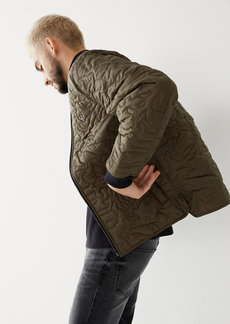 True Religion CAMO QUILTED JACKET