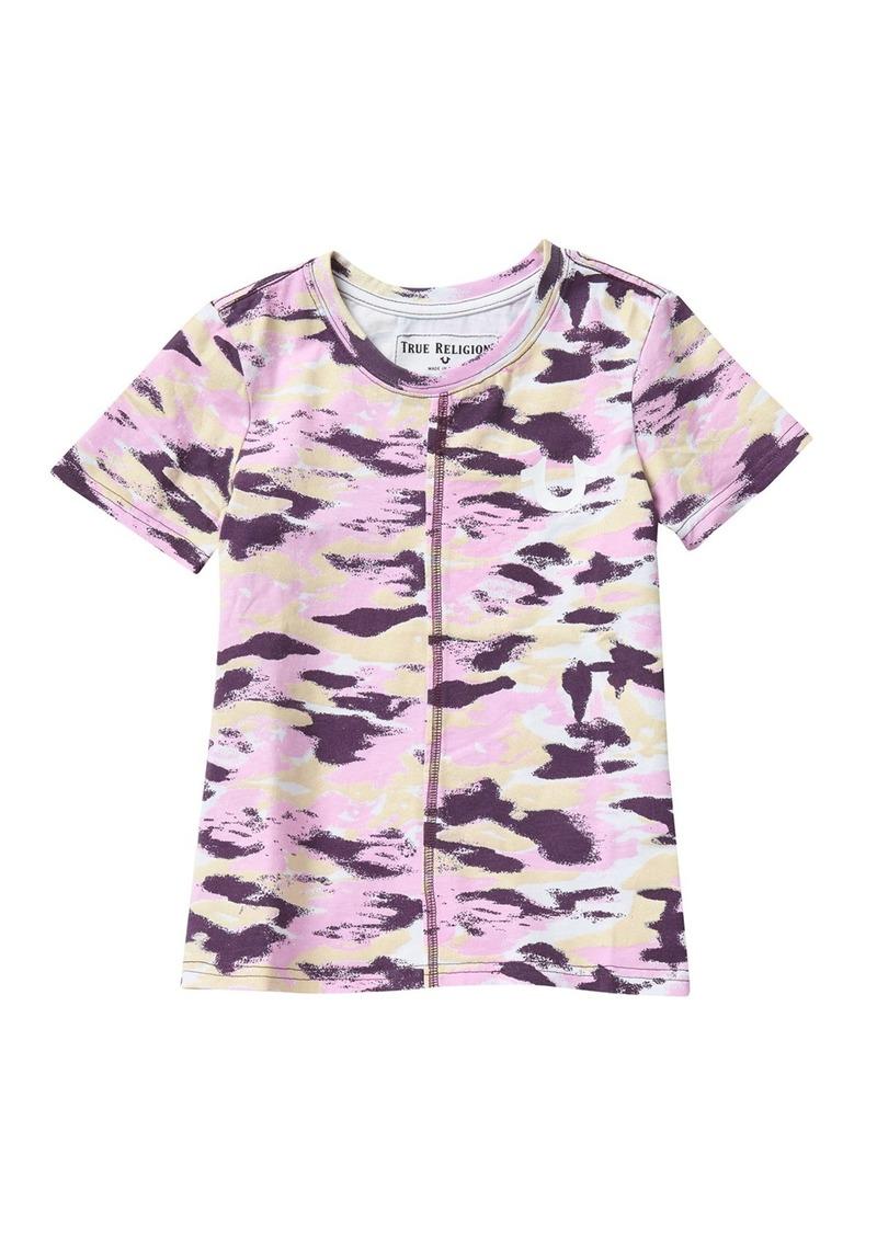 True Religion Camo T-Shirt (Big Girls)