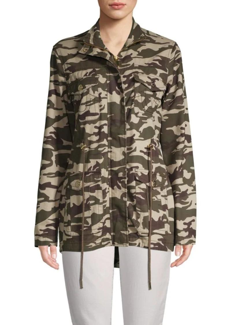 True Religion Camouflage Cotton Jacket