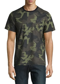 True Religion Camouflage Cotton Tee