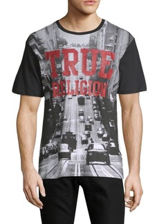 True Religion Car Graphic Cotton Tee
