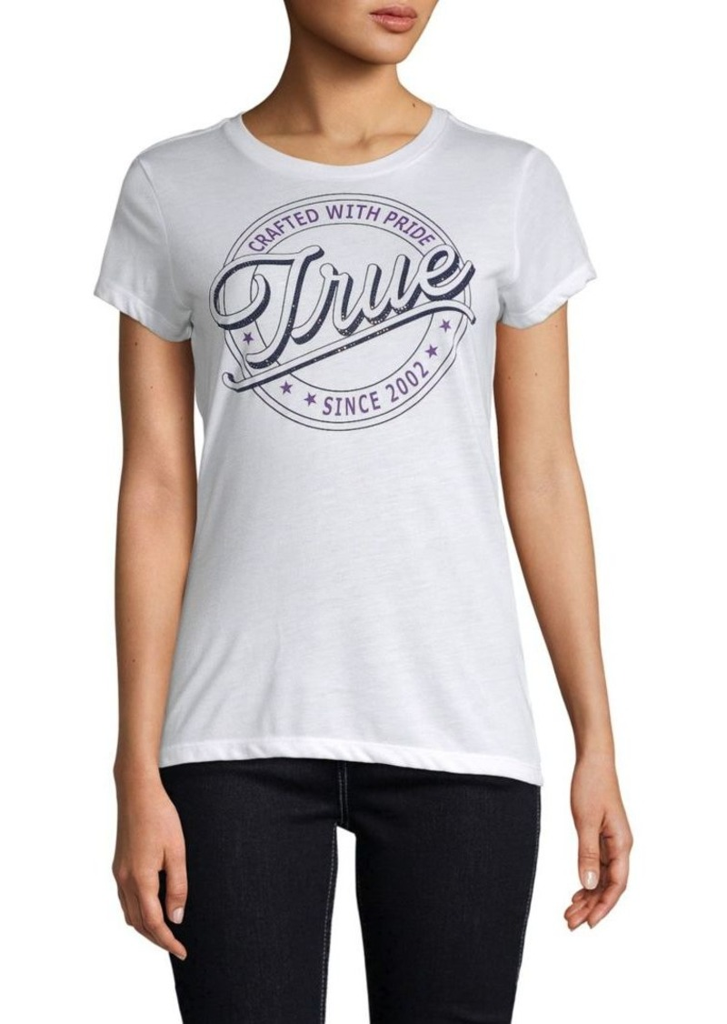 True Religion Circle True Crewneck Tee