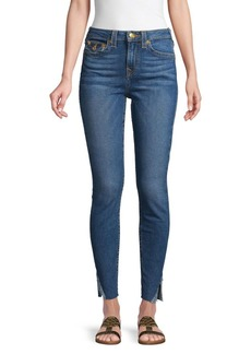 True Religion Halle High-Rise Ankle Jeans
