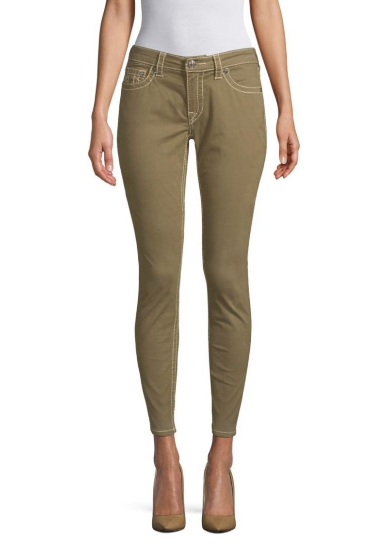 True Religion Classic Ankle Skinny Jeans