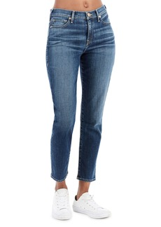 True Religion Colette High-Rise Tapered Skinny Jeans