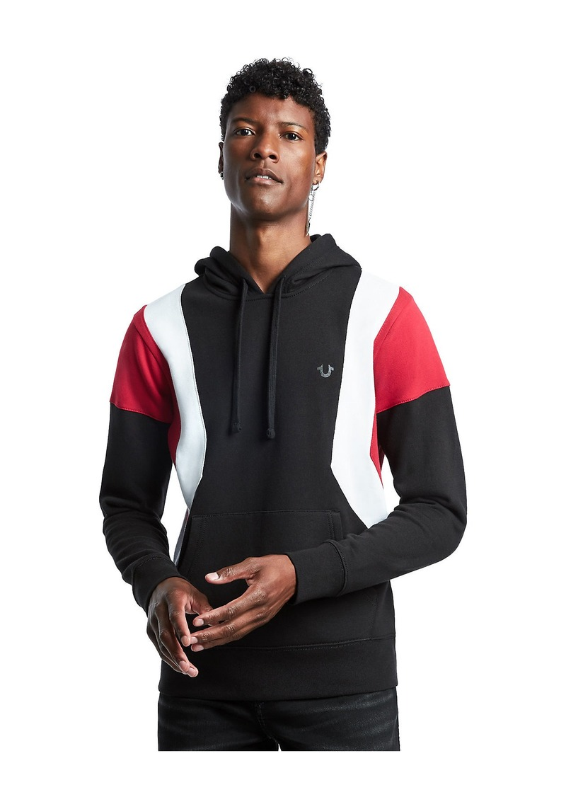True Religion COLOR BLOCK HOODIE