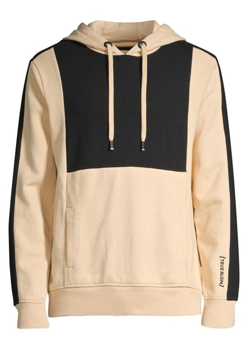 True Religion Colorblock Pullover Hoodie