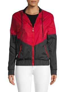 True Religion Colorblocked Windbreaker Jacket