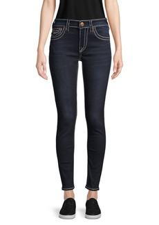 True Religion Contrast Stitch Logo Jeans