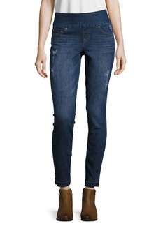 True Religion Cora Embellished Cropped Jeans