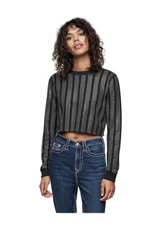 True Religion CRYSTAL CREWNECK SWEATSHIRT
