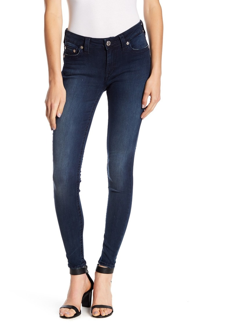True Religion Crystal Pocket Curvy Skinny Jeans
