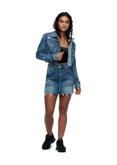 True Religion CUT OFF DENIM JACKET