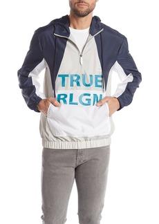 True Religion Dagger Half Zip Jacket