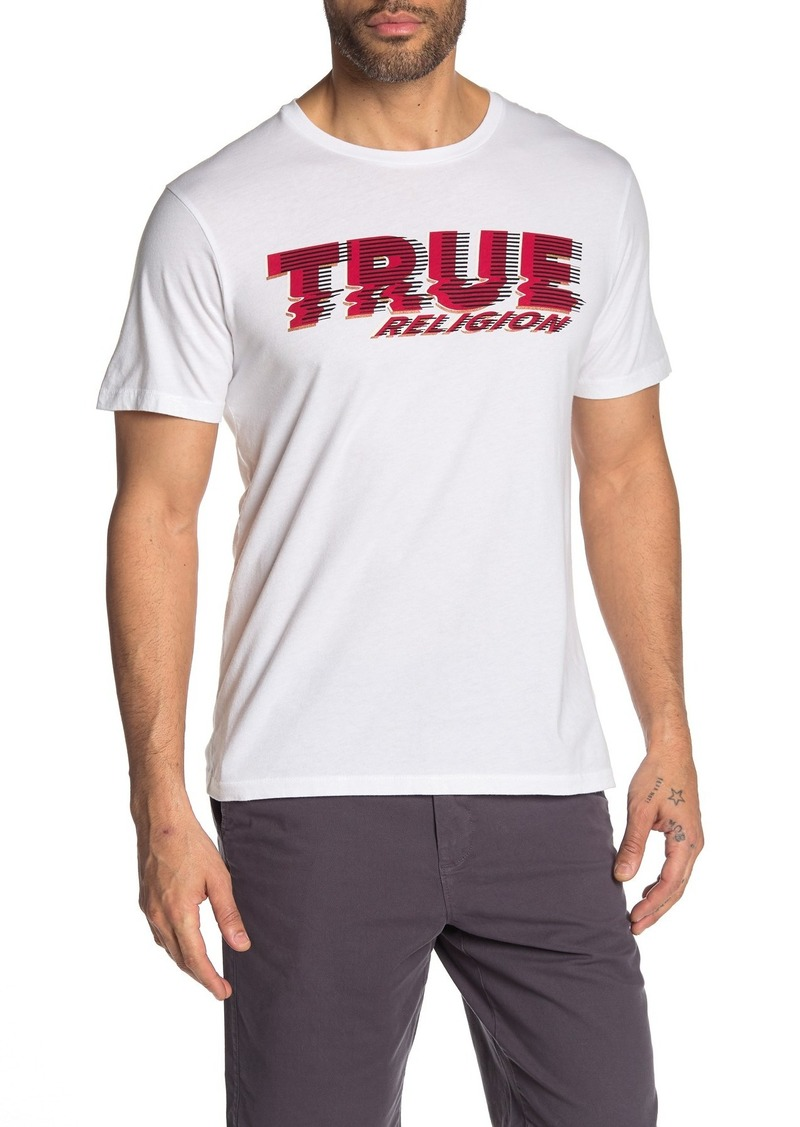 True Religion Distorted Short Sleeve T-Shirt