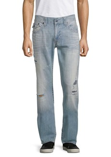 True Religion Distressed Relaxed-Fit Jeans