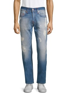 True Religion Distressed Relaxed Fit Jeans