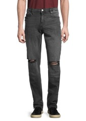 True Religion Distressed Slim-Fit Jeans