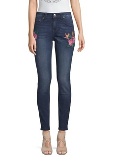 True Religion Embroidered Curvy Skinny Jeans