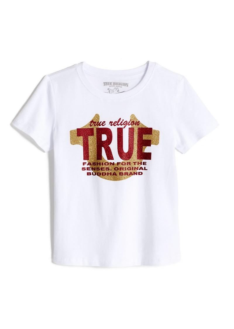 True Religion GIRLS LOGO GRAPHIC TEE