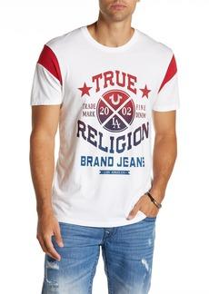 True Religion Flag Football Graphic Tee