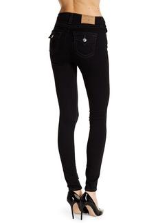 True Religion Flap Pocket Super Skinny Jeans