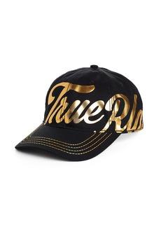 True Religion METALLIC SCRIPT HAT